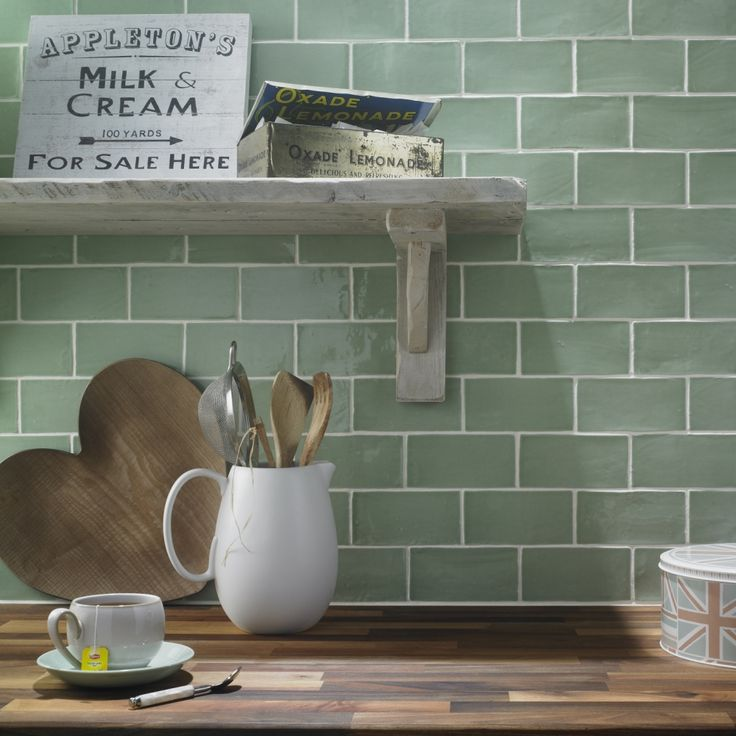 Ordinaire 7ff0790ed507ec64d98660b85396014cu2013kitchen Splashback Tiles Green Tile  Splashback